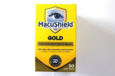 MacuShield Gold Food Supplement For Eye Health With LMZ3 - 30 Day Pack