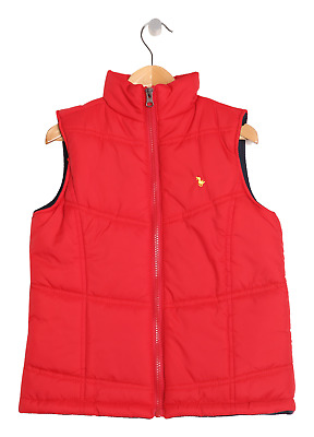 Children's Red Puffer Vest Jacket CLEARANCE SALE Size 8-9