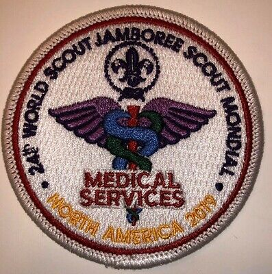 Medical Services Staff IST Badge Patch 2019 24th World Boy Scout Jamboree - MINT