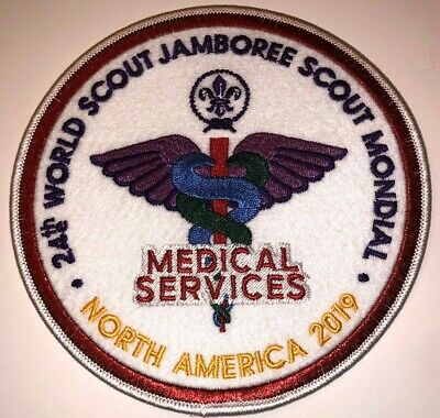 Medical Services Staff IST Large Badge Patch 2019 24th World Boy Scout Jamboree