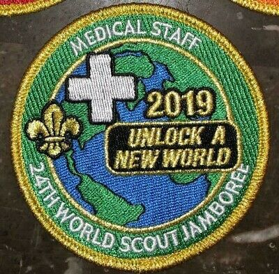 Medical Staff IST Patch Staff 2019 24th World Scout Jamboree Mondial Official