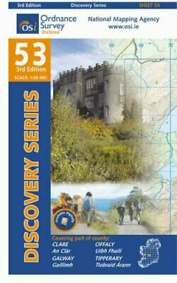 Clare, Galway, Offaly, Tipperary by Ordnance Survey Ireland 9781907122569