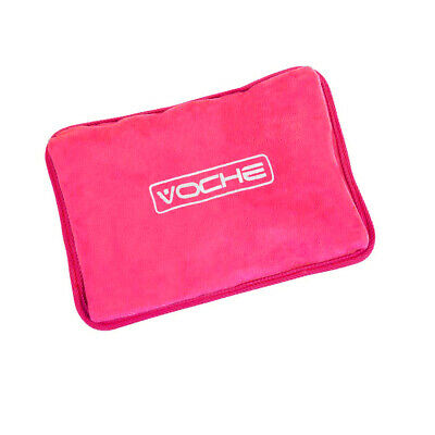Voche® Pink Rechargeable Electric Hot Water Bottle Bed Massaging Heat Pad