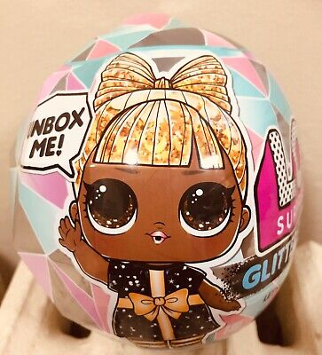 1 Authentic LOL Surprise Glitter Globe Ball Doll Winter Disco Holiday Tots OMG