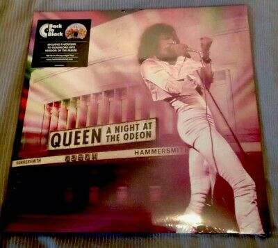Queen A night At The Odeon 1975 Vinyl Double Lp Mint Sealed