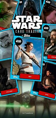 Pick any 9 cards from my Topps Star Wars Card Trader Account SWCT - ODDTIMER
