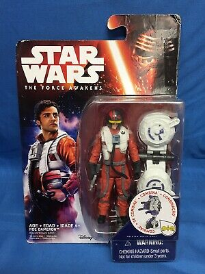 Star Wars The Force Awakens 3.75-Inch Figure Space Mission POE DAMERON New