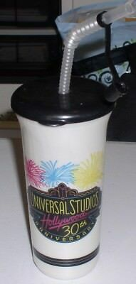 Cup Top Straw Stopper Universal Studios Hollywood 30Th Anniversary