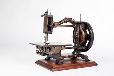 "Vintage~ c1879 ~ ""James Steel's"" Sewing Machine by ""The Royal Sewing Machine Co"""