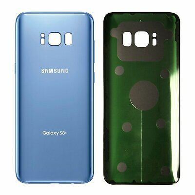 Blue Genuine Samsung Galaxy S8 Plus G955 Rear Back Glass Battery Cover