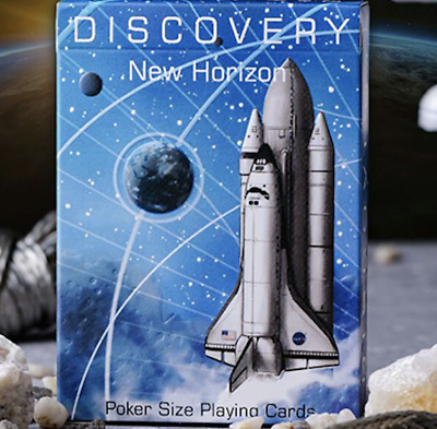 Discovery New Horizon (Blue) Playing Cards by Elephant Playing Cards
