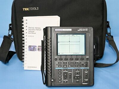 Tektronix THS730A 200MHz 1GS/s Portable Oscilloscope w/ All Accessories