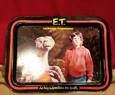 VINTAGE ET Extra Terrestrial Dinner TV Folding Tray