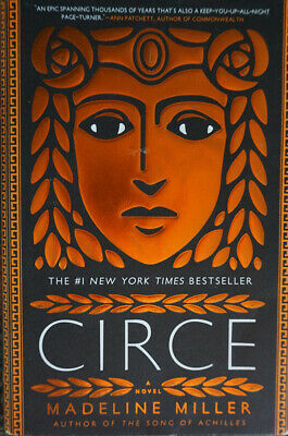 Circe by Madeline Miller Hardback Book with Dustcover Jacket