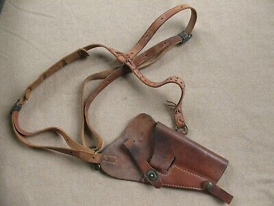 Original WWII Vintage M7 Shoulder Holster for 1911A1 Pistol, USMC BOYT 45