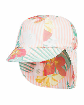NEW ROXY™  Girls 2-7 Come And Go Sun Protection Swim Leigonnaires Cap Girls