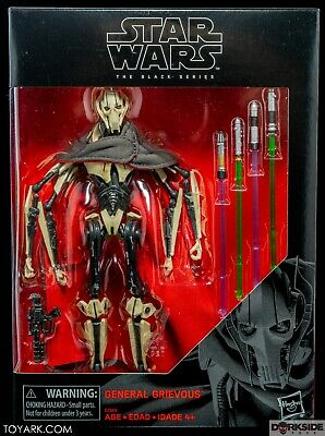 Star Wars The Black Series 6 Inch Action Figure - General Grievous In Stock!!