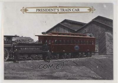 2015 Historic Autographs Civil War - Appomattox #33 President's Train Car 0y3
