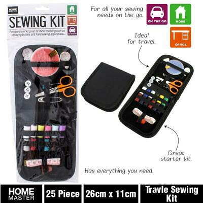 Au Portable Sewing Kit Travel Portable Sewing Thread Needles Pins Measure Tape