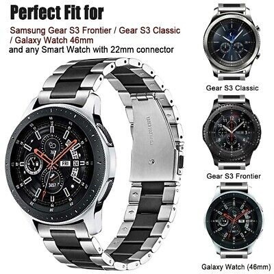 Stainless Steel Strap Band For Samsung Galaxy Watch 46mm Gear S3 Sport Band AU