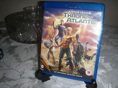 JUSTICE LEAGUE: THRONE OF A...-JUSTICE LEAGUE: THRONE OF ATLANTIS (2 Blu-Ray)