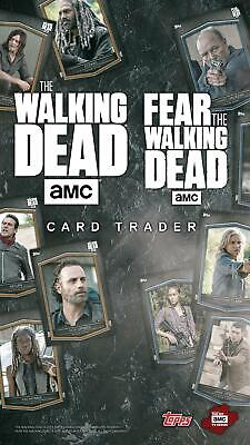 Topps The Walking Dead: Card Trader - Pick any 9 cards!