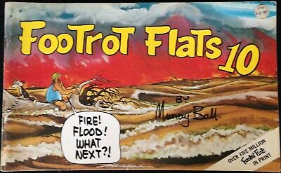 "VINTAGE - AUSTRALIANA COMIC ""FOOTROT FLATS"" No.10  C.1980's."