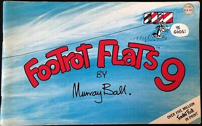 "VINTAGE - AUSTRALIANA COMIC ""FOOTROT FLATS"" No. 9 C.1980's."