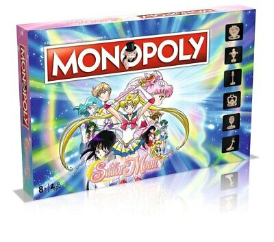 Monopoly - Sailor Moon Edition-WIN003739-WINNING MOVES