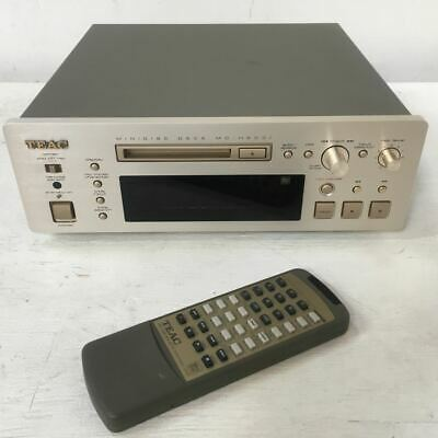 TEAC Minidisc Player / Recorder MD-H500i - Reference Series + Remote Control