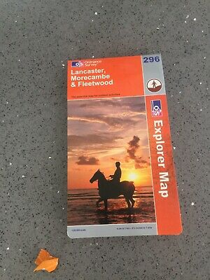 Lancaster, Morecambe and Fleetwood by Ordnance Survey (Sheet map, folded, 2004)