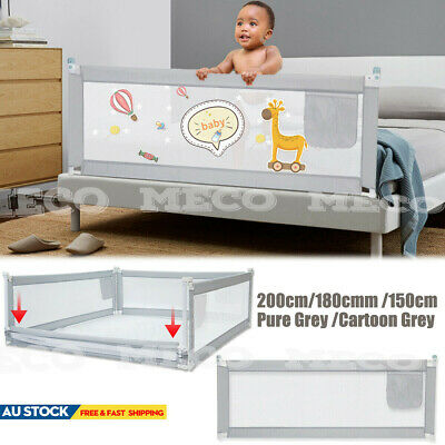 NEW Bed Safety Rail Baby Bed Rail 2m Toddler Bed Guard 150cm Adjustable Folding
