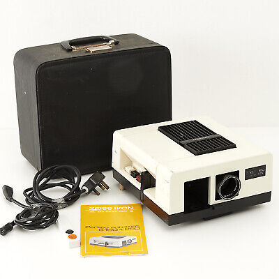 Zeiss Ikon Perkeo Automat S250 Projector With Instructions, Mains Cable & Case.