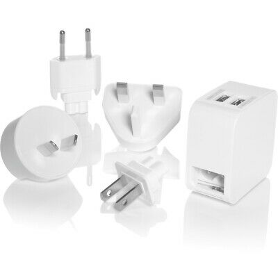 Conair Ls7Ad Dual Usb Charger Adapter Plugs Total 4.2A