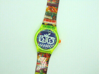 Swatch SLZ104 ZAPPING+BOX - Musical-NEVER WORN-Limited Edition-Nam Jun Paik