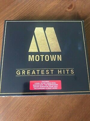 Motown Greatest Hits ~ 3 Discs ~ New & Sealed