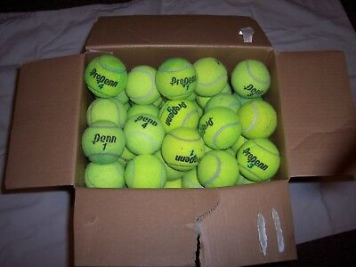 50 Used High Altitude Tennis Balls Free shipping!