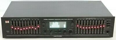 BSR EQ-3000 Stereo Frequency Graphic Equalizer/Spectrum Analyzer EXCELLENT
