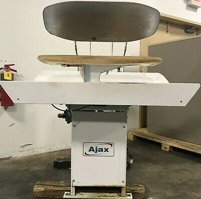 Ajax Laundry Double Topper Press.