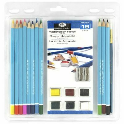 Royal & Langnickel Clamshell Watercolour Set 19 Piece