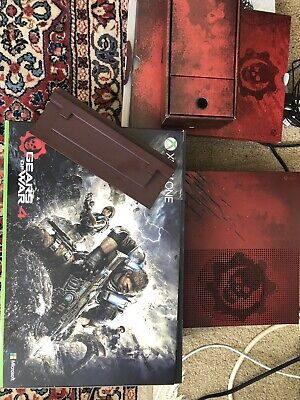 xbox one S gears of war 4 2TB console + Box + HDMI +Power Cable+console Stand