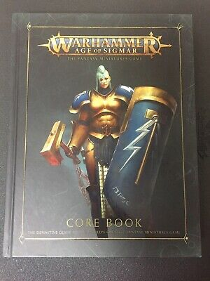 Games Workshop Warhammer Age of Sigmar AOS Hardcover Core Rulebook USED