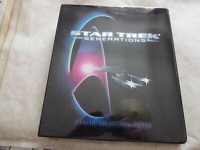Star Trek Generations  Trading Card Set  With Binder+  Chase/Promo/Skymotion