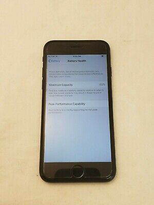 Apple iPhone 7 - 32GB - Jet Black (Unlocked) A1778 (GSM)