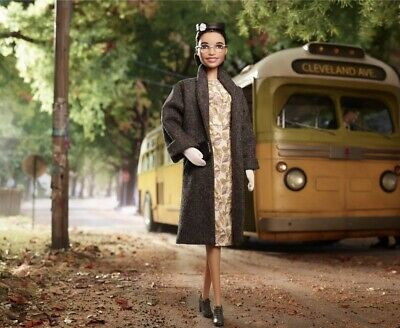 Rosa Parks Barbie Doll Inspiring Women Series 2019 Mattel IN HAND READY TO SHIP