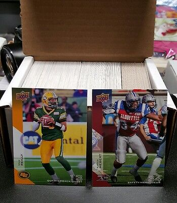 2014 Upper Deck Cfl Maestro Set 1-180 No Retro Incluido