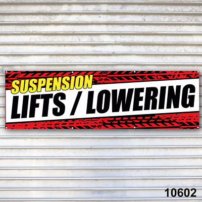 Lifts / Lowering Suspension Banner