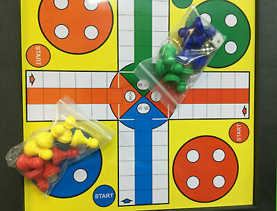 Snakes & Ladders With Ludo Traditional Family Board Game Kids Adults Play 2 IN 1