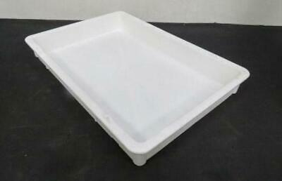 Plastic Pan 16 x 24 x 3 dough tray doughmate pizza stacking proofing