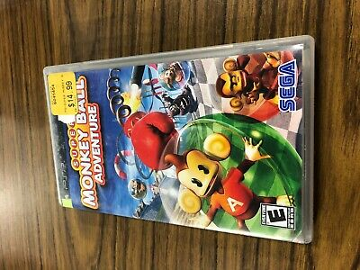 Super Monkey Ball Adventures Sony PSP Complete TESTED FAST SHIPPING
